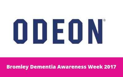 Odeon Orpington Dementia Friendly Screening