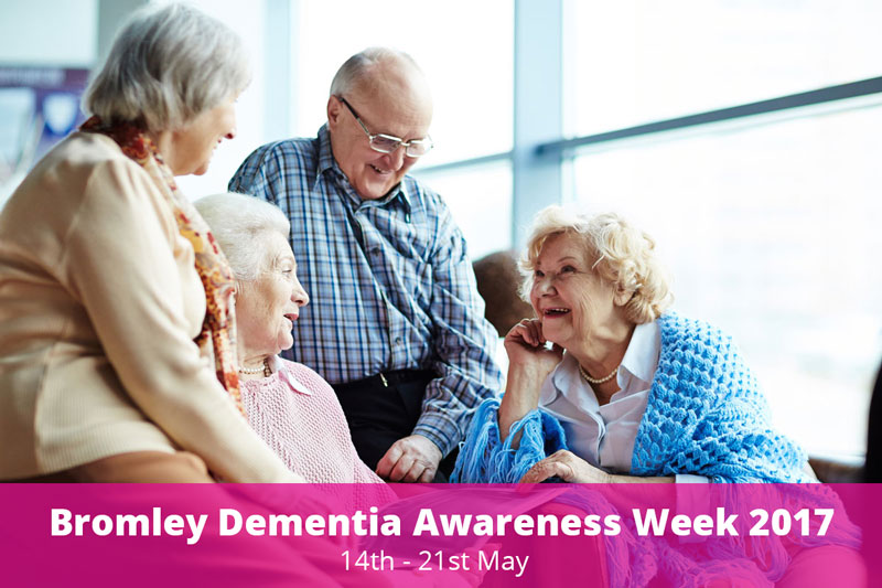 Local Organisations Working Together for Dementia Awareness Week 2017