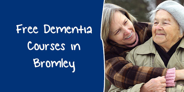 Free Dementia Training in Bromley for 2018