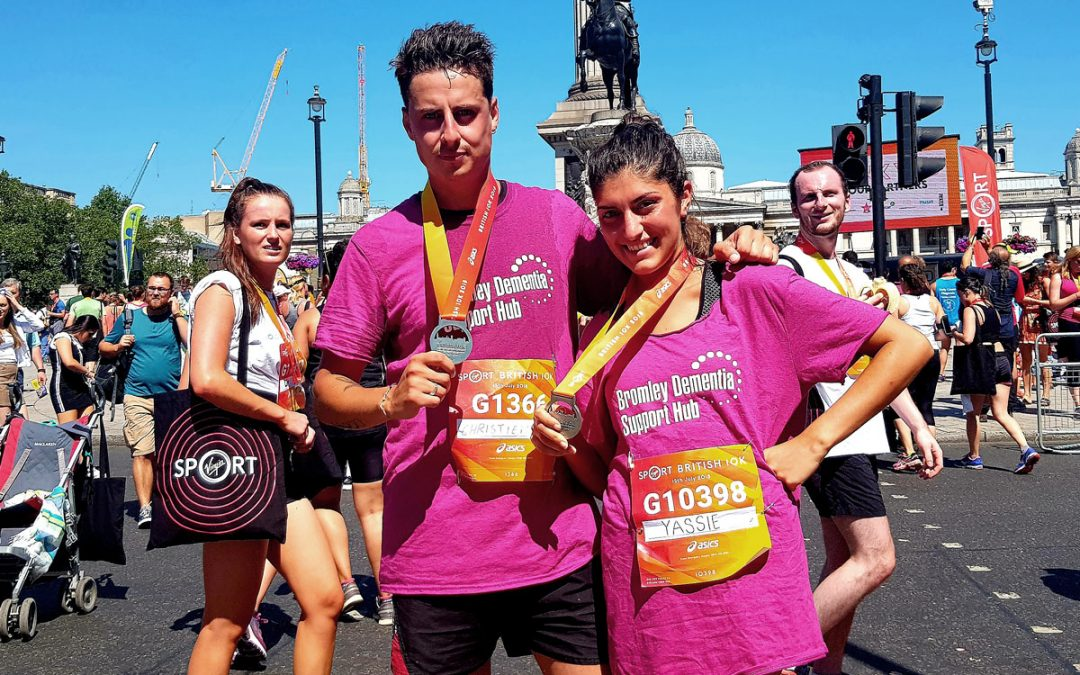 Couple Raises £1,190 for the Bromley Dementia Support Hub