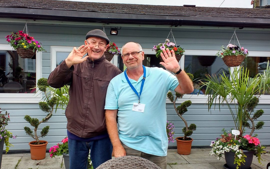 Alan Volunteers to Support Bryan Living with Dementia